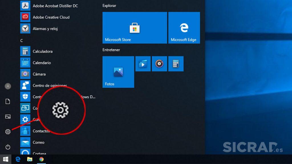 Como entrar en la BIOS de un ordenador - Configuración de Windows