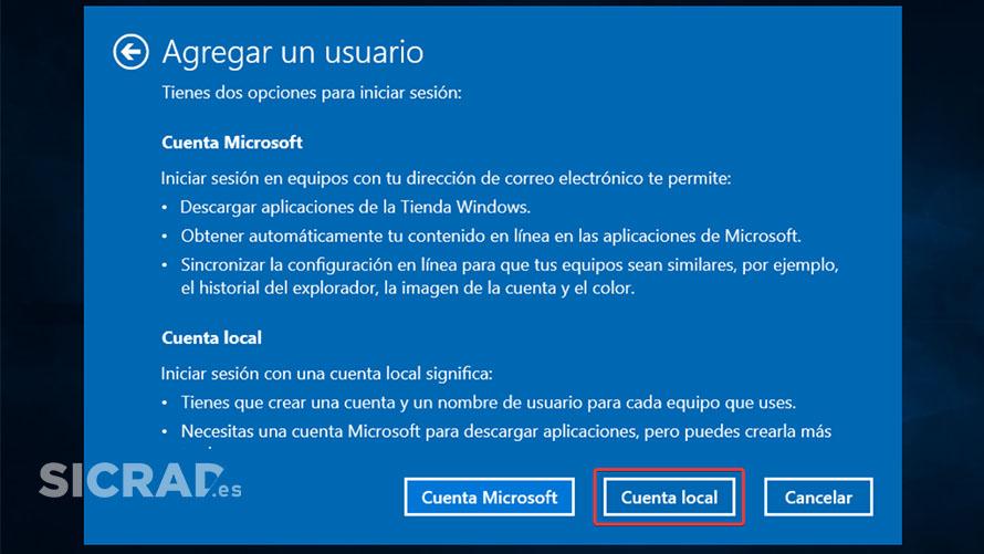 PASO 3 - Como crear una cuenta local en Windows 10 con netplwiz fácil
