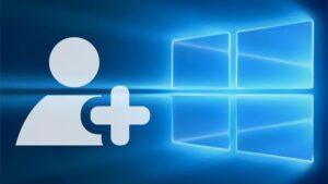 Como crear una cuenta local en Windows 10 portada
